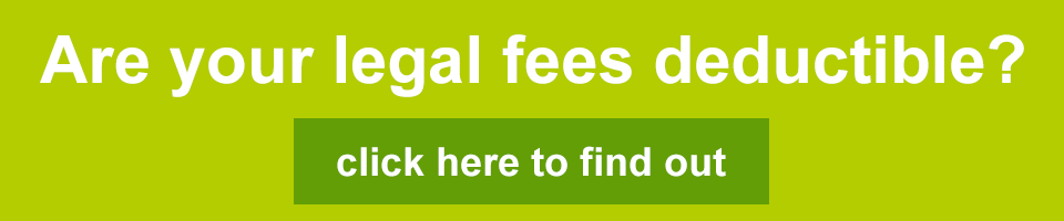 Are legal fees deductible
